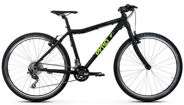 PYRO BIKES Twentysix Large - Black