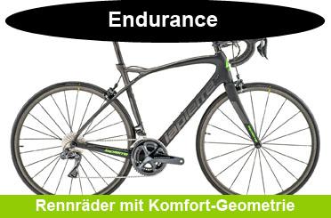 Endurance / Komfort Rennrad Onlineshop Angebote