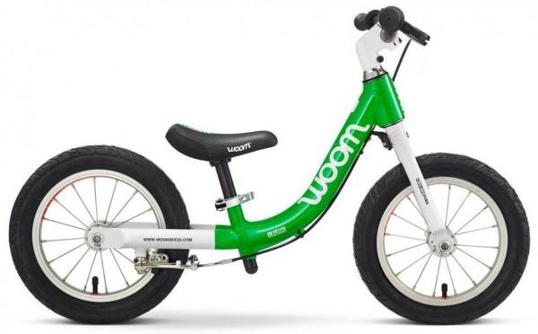 WOOM 1 - Kinderlernlaufrad 12 Zoll - Green