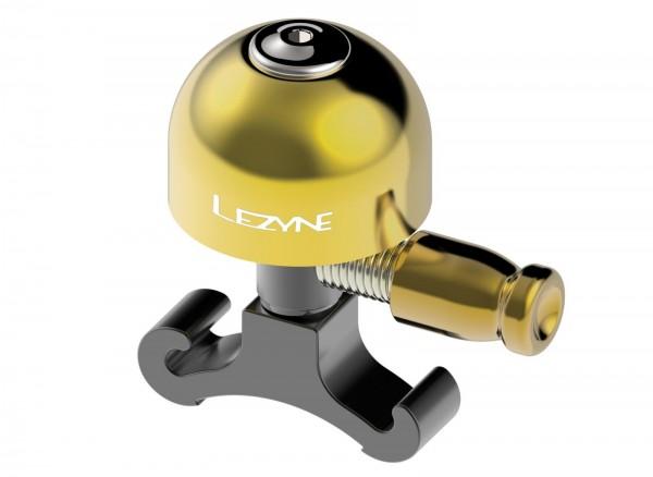LEZYNE Classic Brass - Messing Fahrradklingel