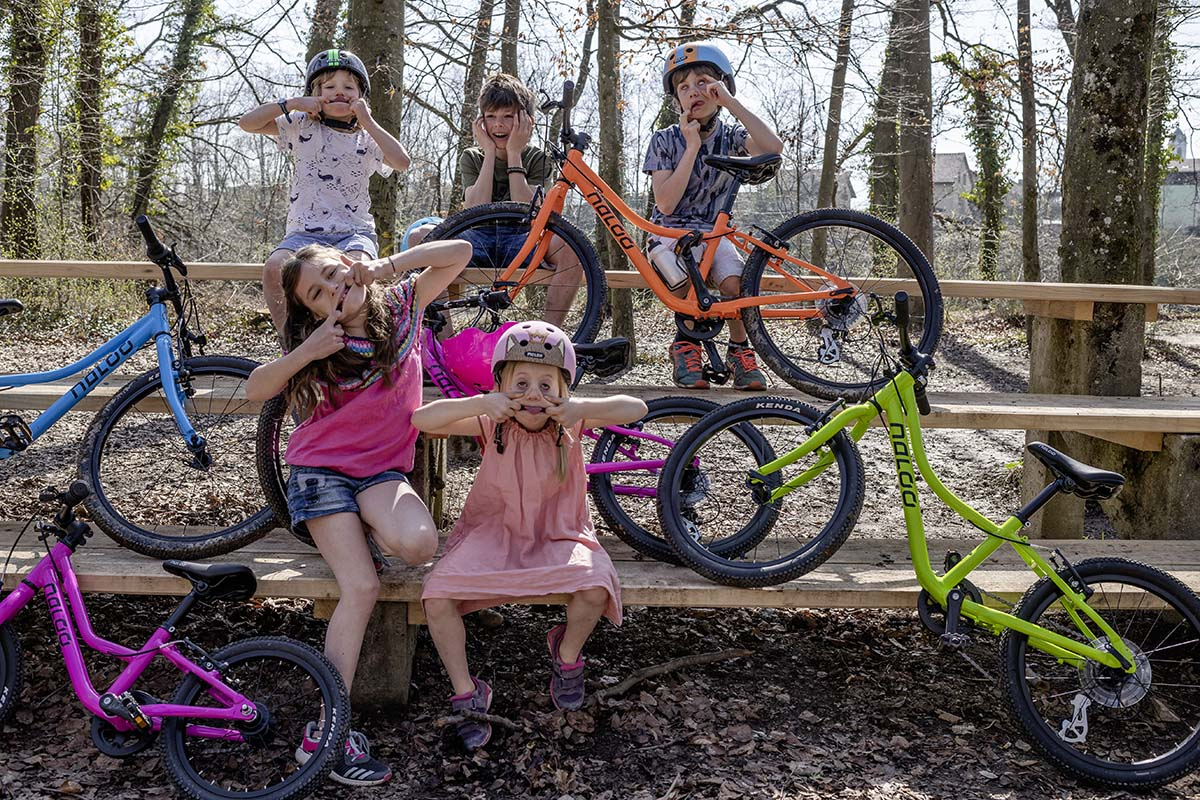 NALOO Kinderfahrrad - Spass fuer Kids