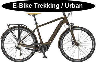 Scott E-Bike Trekking Urban Angebote