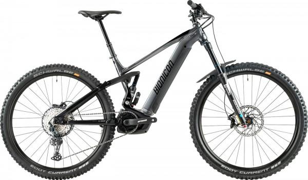 BIONICON WYATT 2 - Bosch E-MTB Fully - Modell 2020 - Dark Grey