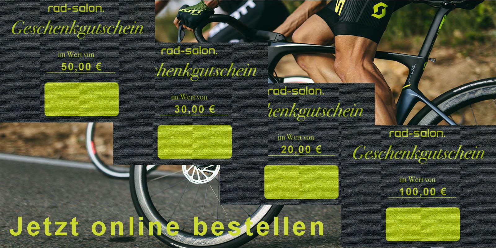 Gutschein für deinen Bikeshop online kaufen