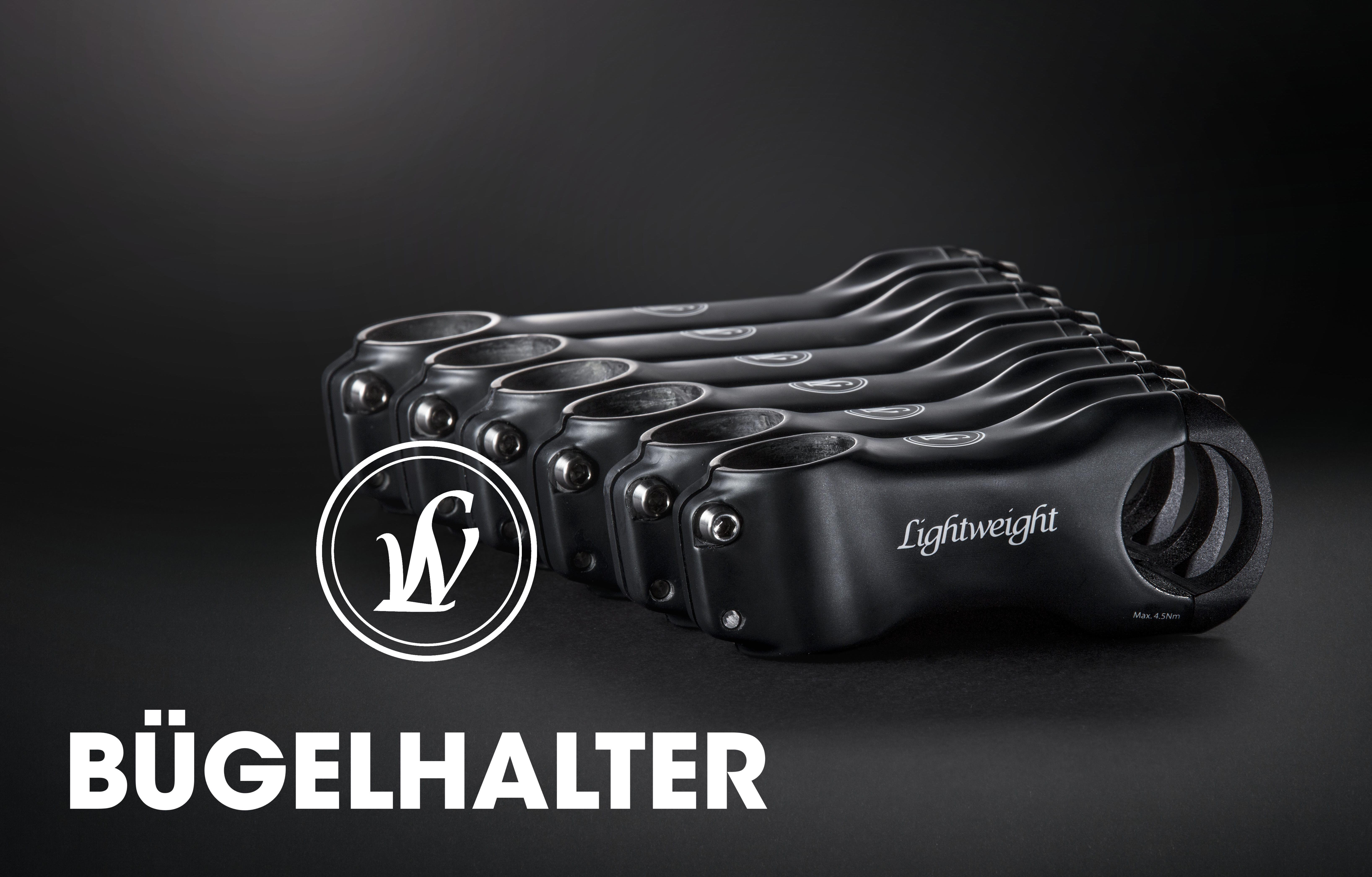 Lightweight Bügelhalter - Edler Carbon-Vorbau