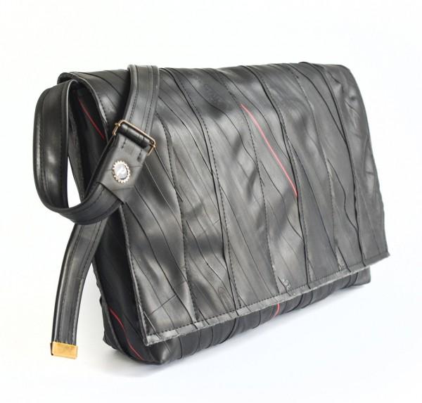 PLATTGOLD Herrngarten Gross / Laptop-Tasche (schwarz)
