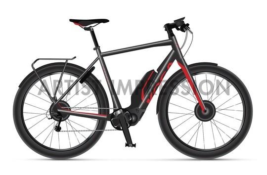 KOGA Pace S20 Herren - Lifestyle E-Bike mit Shimano STEPS