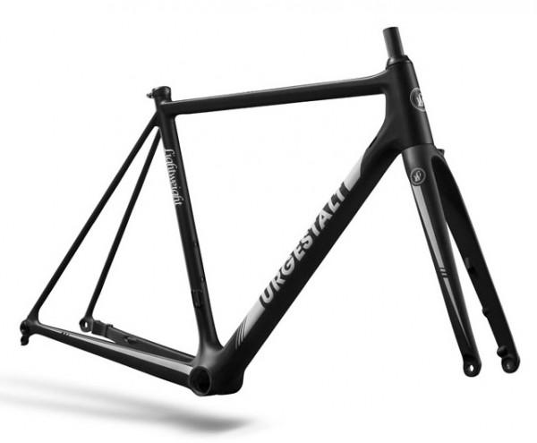 Lightweight Urgestalt Disc White - Carbon Rennrad-Rahmen