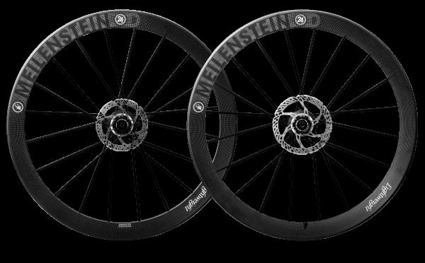 Lightweight Meilenstein C Disc 24D - Carbonlaufradsatz