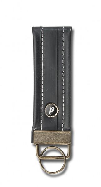 PLATTGOLD - Stadtschloss Mini - Schlüsselanhänger (Weiss)