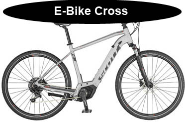 Scott Cross E-Bike Onlineshop