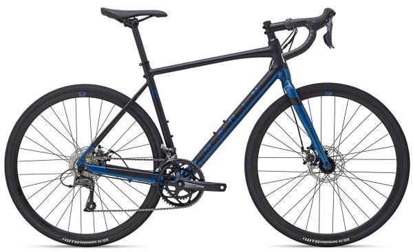 MARIN Bikes Gestalt - Black / Blue - Alu Gravelbike - Modell 2021