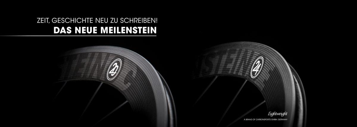 Lightweight Meilenstein C 24E - Carbon Laufradsatz im Onlineshop