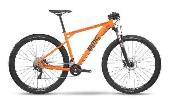 BMC Teamelite TE03 Deore-SLX - Farbe: Orange - Modell 2017