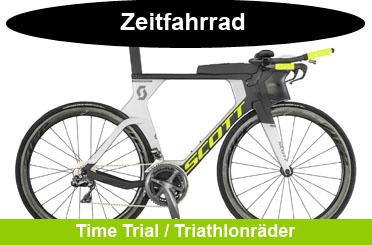 Zeitfahrrad und Triathlonrad Onlineshop Angebote