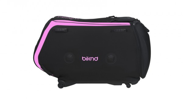 BIKND Helium V4 - Fahrradtransporttasche - Fahrradkoffer - Pink