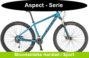 Scott Aspect Mountainbike kaufen