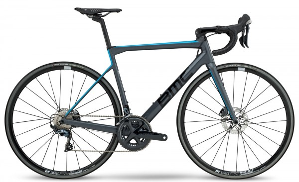 BMC Teammachine SLR01 Disc TWO - Grey Blue - Modell 2018