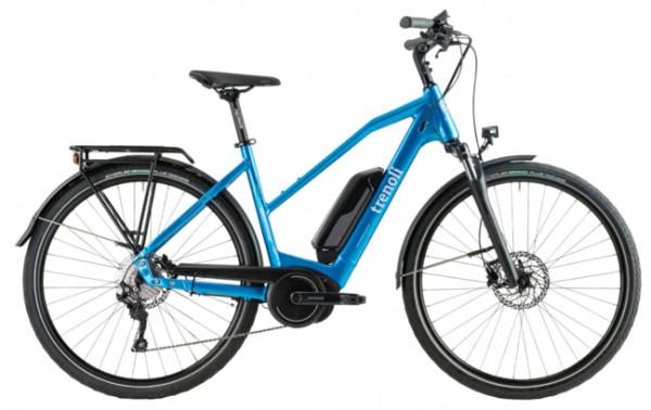 TRENOLI Brenta Sportivo T - Bosch E-Bike - Modell 2020 (Blue / Light Grey)