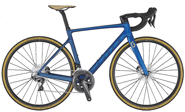 SCOTT Addict RC 30 Disc - Blue - Modell 2020