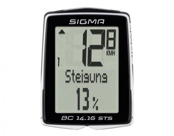 Sigma BC 14.16 STS Fahrradcomputer