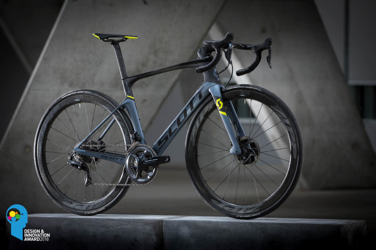 Scott Foil Premium Disc mit Design & Innovation Award 2018