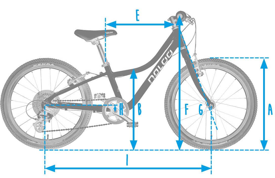 Naloo_Chameleon_Kinderfahrrad_20_Rahmengeometrie