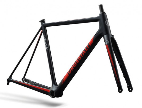 Lightweight Urgestalt Disc Red - Carbon Rennrad-Rahmen
