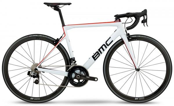 BMC Teammachine SLR01 ONE - Farbe: White Red - Modell 2018