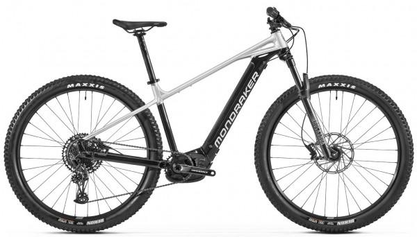 MONDRAKER Prime+ - Black Racing Silver - Bosch eMTB Hardtail 2022