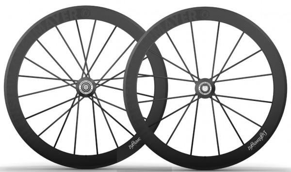 Lightweight Meilenstein Obermayer Carbon-Laufradsatz