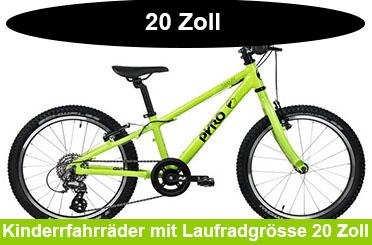 Kinderfahrrad Angebote mit Laufradgrösse 20 Zoll