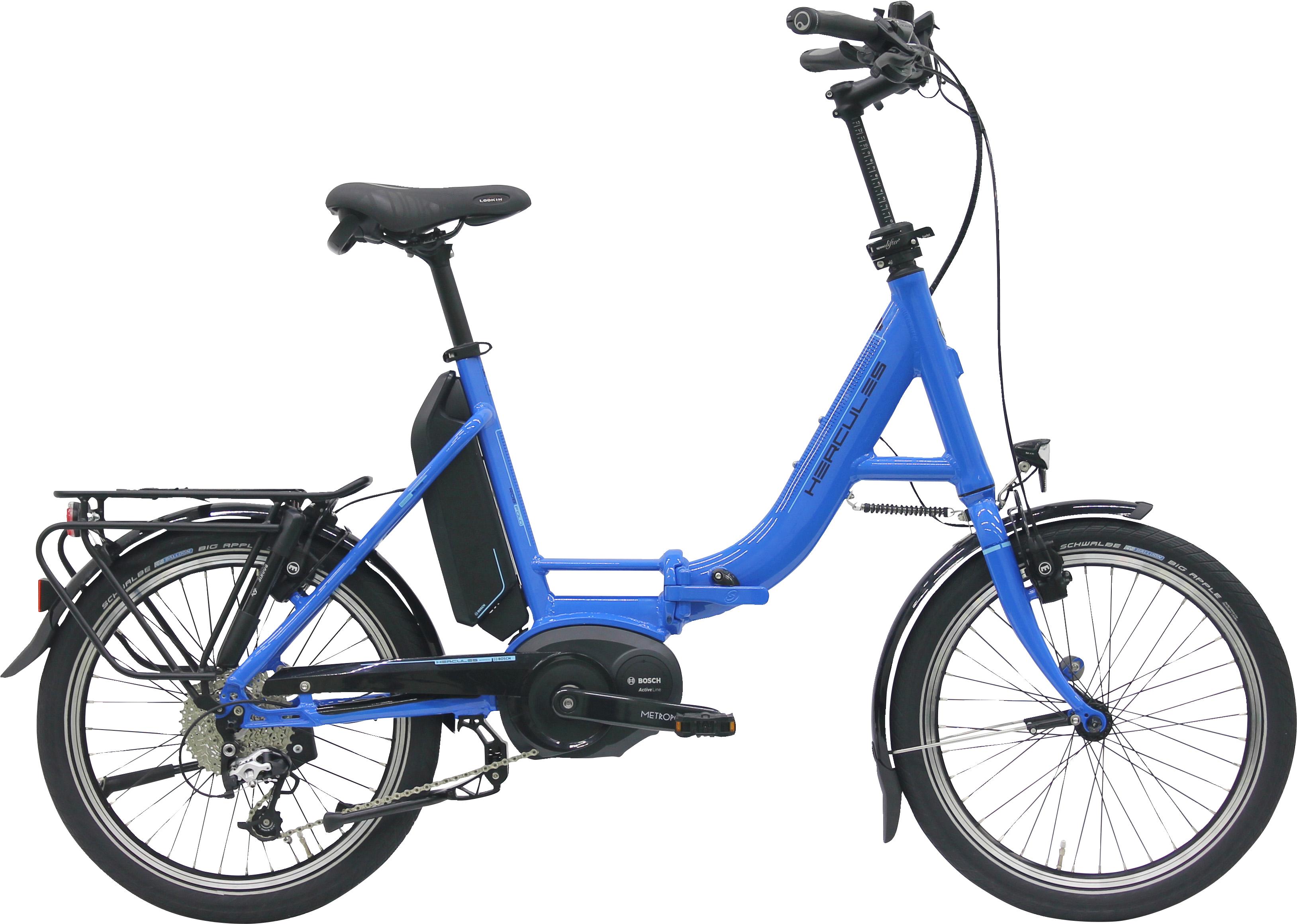 hercules rob fold 9 active 400 wh faltrad e bike. Black Bedroom Furniture Sets. Home Design Ideas