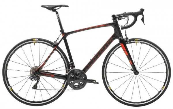 LOOK 765 HM Ultegra (Black Fluo Red) - Modell 2017