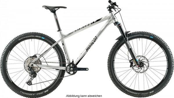 BIONICON CODY 2 Trail Hardtail - Modell 2020 - Silver Raw